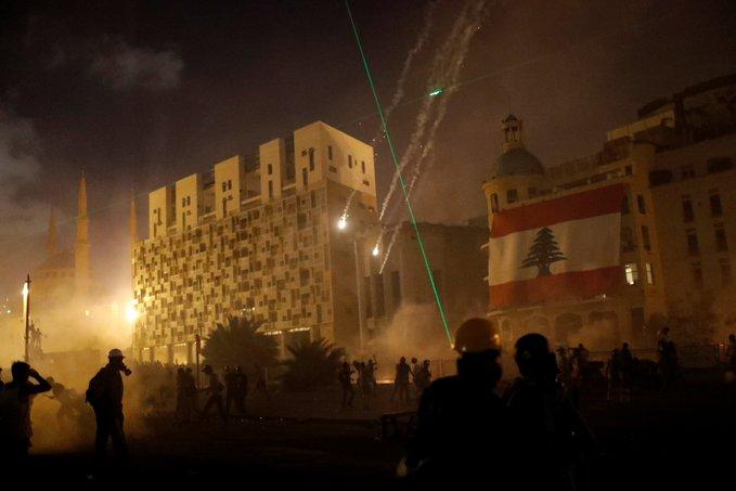 Lübnan'da halk ayaklanması