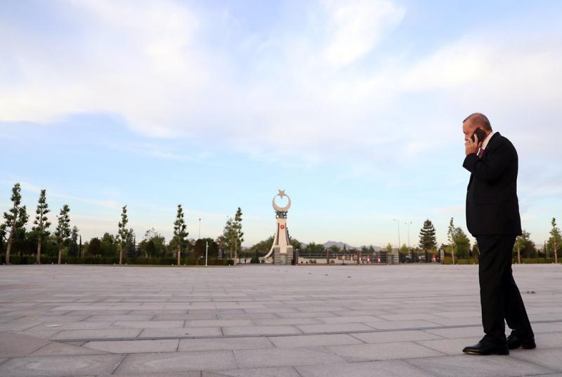 Erdoğan'dan Ankara'da mesaiye devam paylaşımı